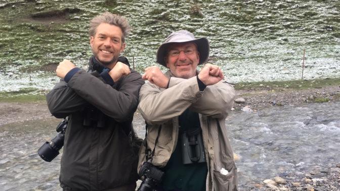 Jocko and Chris after SL sighting